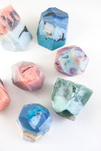 How to Make DIY Soap Rocks