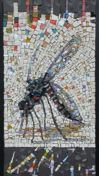 colusso's mosaic, grès, glass,