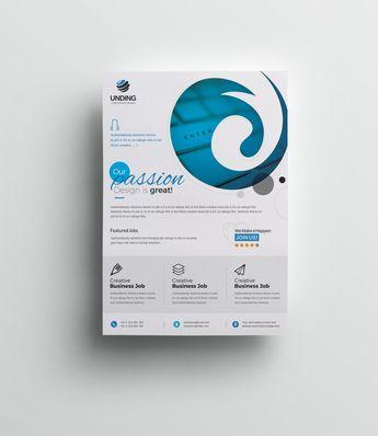Venus Stylish Premium Business Flyer Template 001076 - Template Catalog