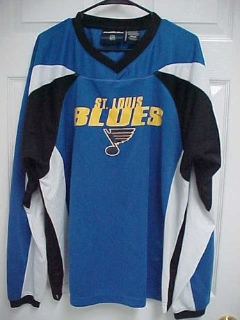 70e95cffd Details about Kid s Boy s Youth Size St. Louis Blues NHL Hockey Mesh Jersey  Size XL