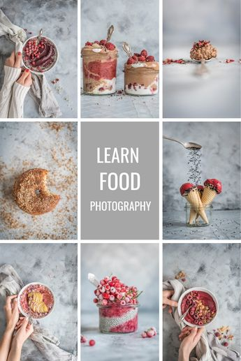 Free 21 Food Photography Cheat Sheets