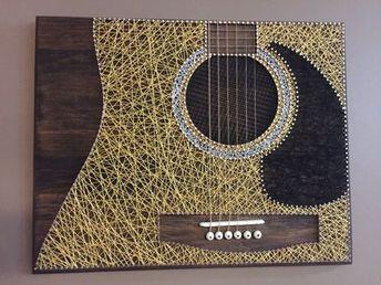 Guitar String Art