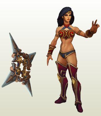 [league of legends] sivir spectacular skin