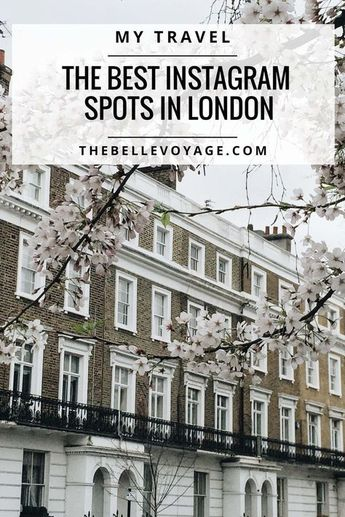 Here's The Top 10 Most Instagrammable Places in London