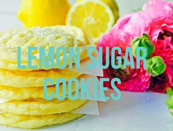 Lemon Sugar Cookies. Chewy homemade lemon cookies have the perfect light lemon flavor.