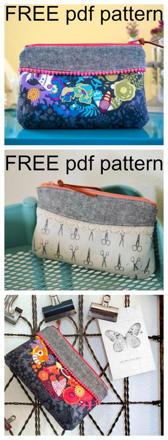 Curvy Clutch Bag - FREE pattern