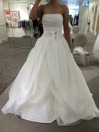 205fc96355cd White by Vera Wang Corded Lace Wedding Dress VW351372