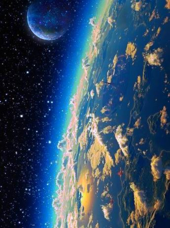 Planets galaxy
