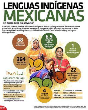 20150223 Infografia Lenguas Indigenas Mexicanas