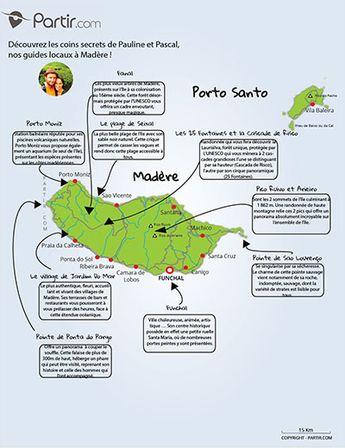carte Madère coins secrets