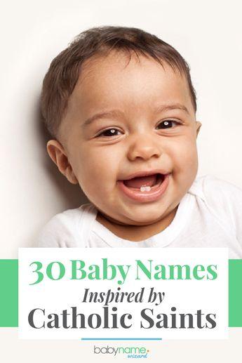 40 Modern names inspired by Catholic saints