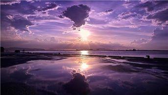 Purple Sunset Diamond Painting
