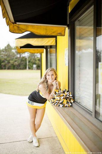 20+ Cheerleader Girl high schools senior pics