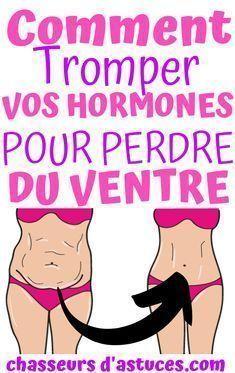 Comment désactiver les hormones qui vous font prendre du ventre