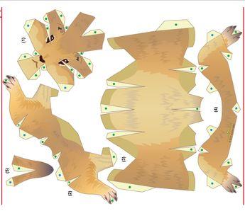 prairie dog template