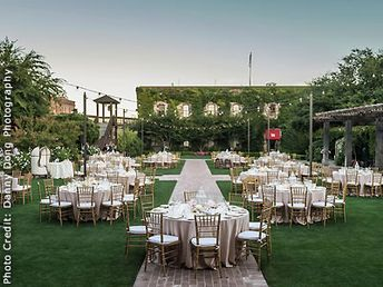 The Estate Yountville - Vintage House and Hotel Villagio Wedding Venue in Yountville CA 94599