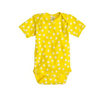 Nature Baby® for J.Crew short-sleeve one-piece in dot - nature baby - Girl's baby - J.Crew