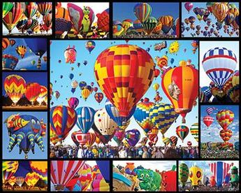 Hot Air Balloons Jigsaw Puzzle -1000 Pieces