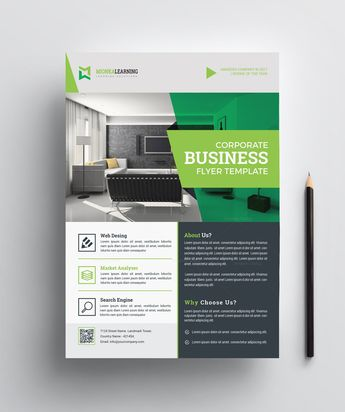 Architecture Print Flyer Template - Graphic Templates