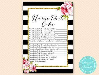 name that cake name that wedding cake cake game chic black stripes bridal