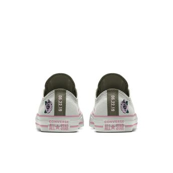 9ef8b5b5614aa4 Converse Custom Chuck Taylor All Star Rose Embroidery Low Top Shoe. Nike.com