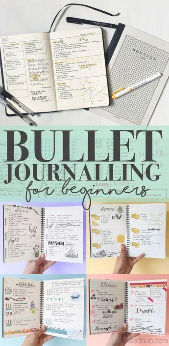 Bullet Journalling for Complete Beginners!