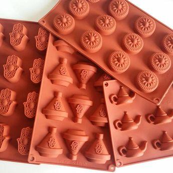 Financiers (en forme de tajine) au chocolat blanc - Chez Requia, Cuisine et confidences ...