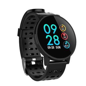 Fitness tracker HR Blood oxygen Blood pressure Clock Men women smartwatch