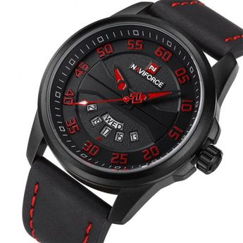 Casual Leather Strap Army Military Sports Wrist Watch - BeFashionova