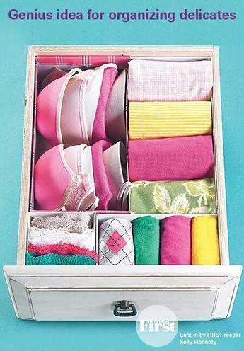 organize delicates