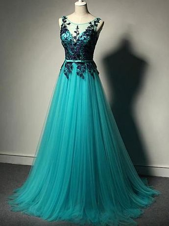 6f59d5a66013 New Arrival V-Back Floor-length Party Cocktail Prom Dresses Online