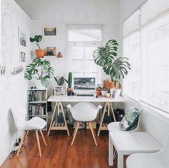 "Pinned by apothecaryteaandgallery 💚 @theplantedgram on Instagram: ""Oh hey 🌿💚 📷: @heyrimba - - - - - - - - - - #elclectic #plants🌿 #indoorplanting #plantstrong #planted #plantbar #planting #houseplants #interiors #bohostyle"