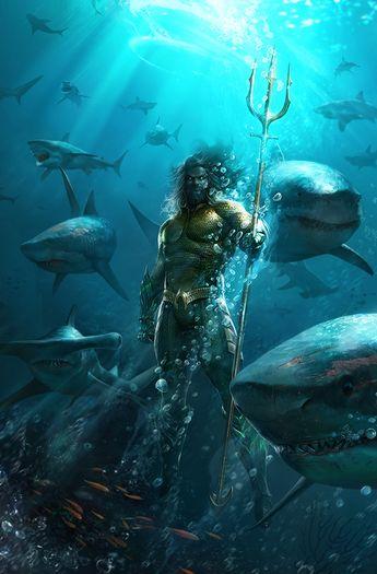 'Aquaman' Video Reveals Detailed Look At Superhero's Classic Costume