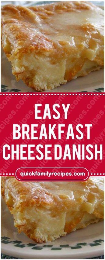 EASY BREAKFAST CHEESE DANISH #breakfast #cheese #danish #easyrecipe #delicious #foodlover #homecooking #cooking #cookingtips