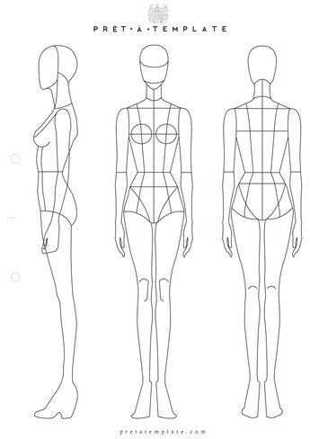 list of pinterest fashion design sketches body templates pictures