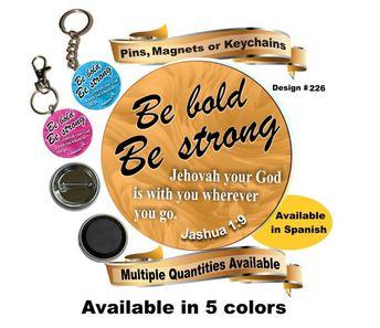 JW gifts/#175/JW pin,magnet,keychain 'I