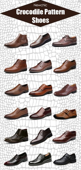 What shoes are the most stylish shoes for grown man? Some people claims dress shoes, while others agree to chelsea boots. For me, I think crocodile pattern shoes is the most stylish shoes for a grown man. Shop Newchic.com for more shoes ideas. Click inside to see the latest trendy crocodile pattern shoes now. #mens #shoes #formal #casualsmart #style #stylish #fashion #mensfashion #mensshoes