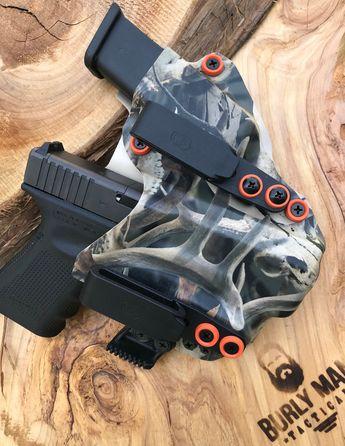 Glock 19 G19 G-19 with Inforce APLC Desert Tan EMT Red Kyd