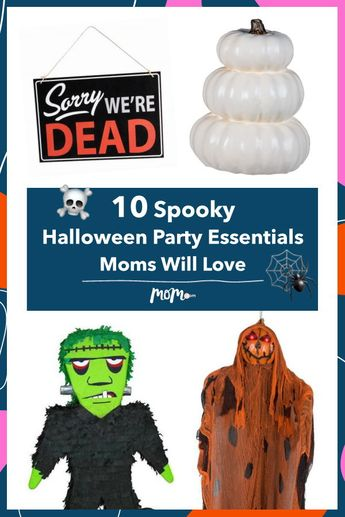 10 Spooky Halloween Party Essentials For Moms Who Really Get Into The October Spirit