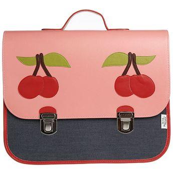 1eae102f13  JeunePremier Maxi  boekentas -  schooltas  kersen  schoolbag  satchel   cartable