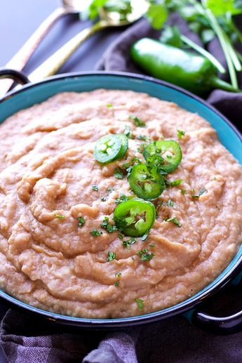 Instant Pot Mexican Refried Beans