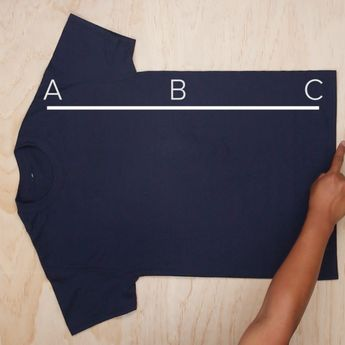 One Trick to Fold Your Shirts #hack #simple #folding #clothes #organize