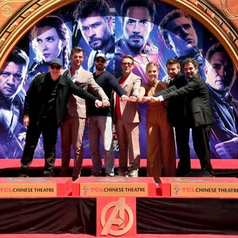 Avengers: Endgame: Robert Downey Jr, Mark Ruffalo and others get immortalized at Hollywood's Chinese Theatre