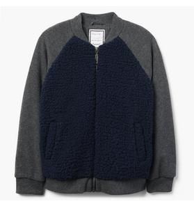 e948c23f6 Sherpa Bomber Jacket - Caden family pictures