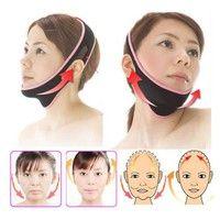 Face Lift Up Belt Sleeping Mask Massage Slimming Face Shaper Anti-Aging vo5