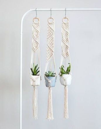 Vintage Macrame Plant Hanger Ideas 79