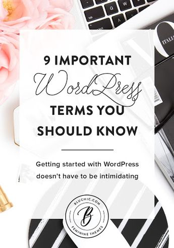 9 Important WordPress Terms You Should Know