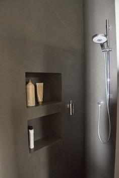 wasserfester Putz in der Dusche - #der #Dusche #Putz #salledebain #wasserfester