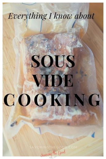 Sous vide cooking is growing in popularity and there are so many questions about what it means to cook using sous vide. Here are your questions answered about sous vide. #sousvide #sousvidecooking
