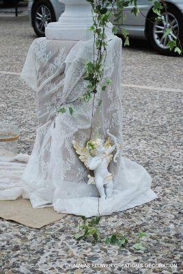 45e61e922792 Στολισμός γάμου με λευκές ορτανσίες